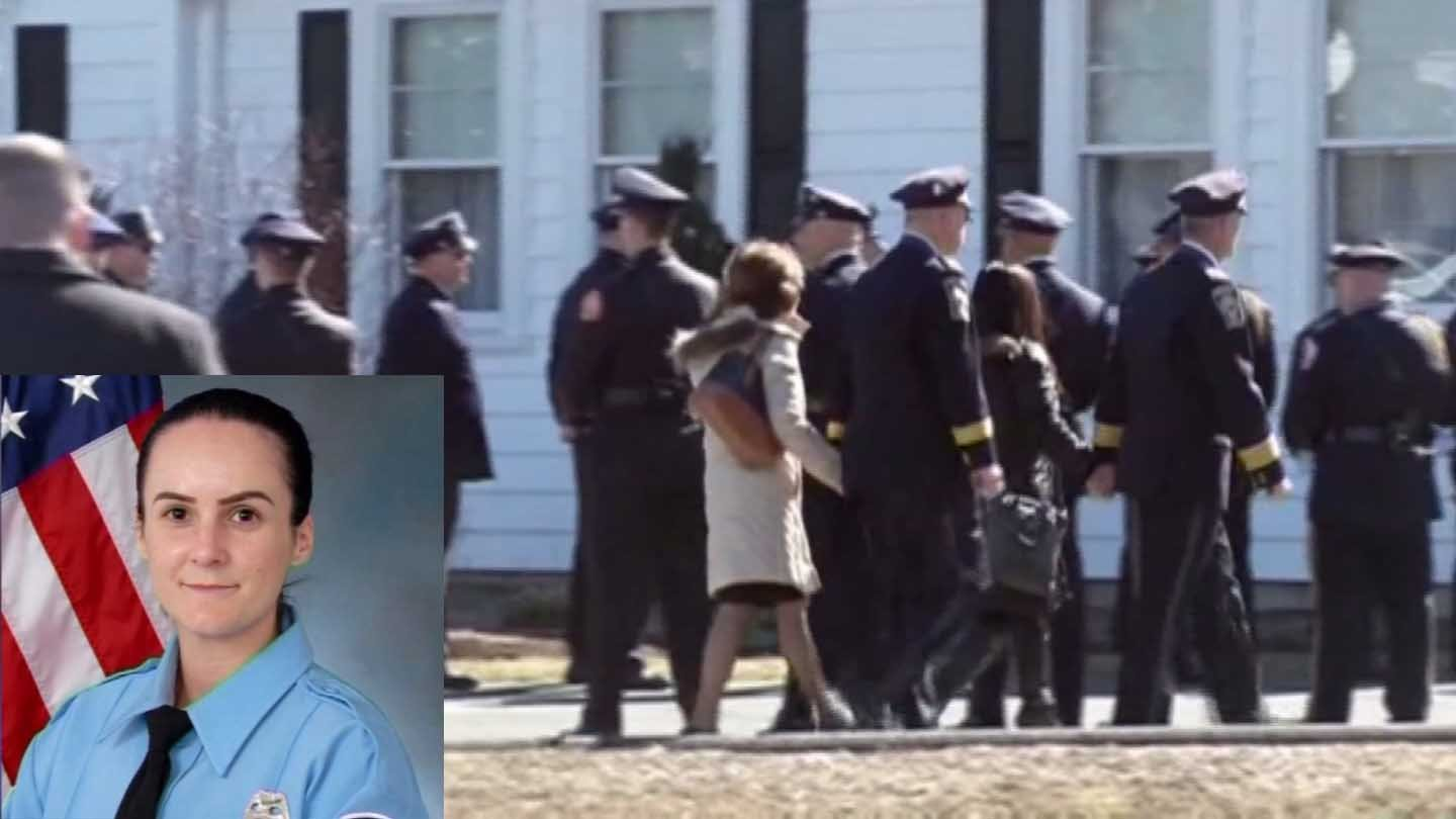 Ashley Guindon was honored by officers from across the country over the weekend. (CNN photos)