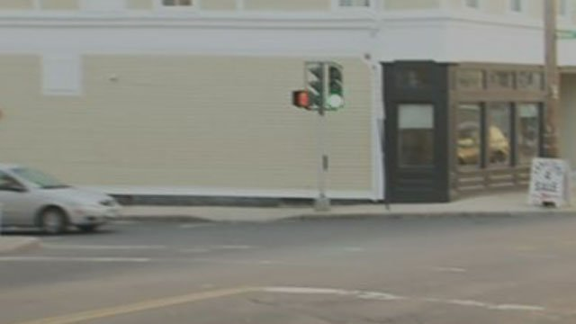 New Haven police are searching for the driver of a hit-and-run crash. (WFSB)