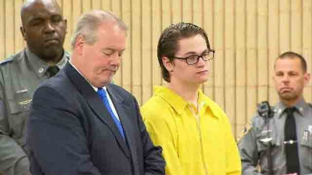 Christopher Plaskon, a Milford teen accused of stabbing a classmate to death over a prom invitation rejection, accepted a plea deal on Monday. (WFSB)
