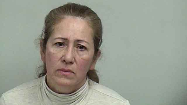 Lucy Pedroza, 52, is accused of taking several high-end handbags and jewelry from the family she worked for. (Westport Police)
