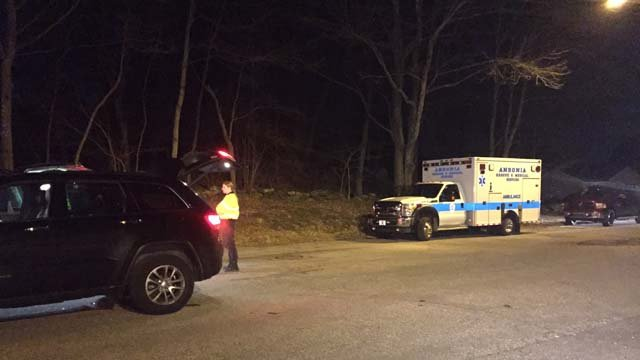 Two women were found safe after getting lost while hiking in Ansonia on Tuesday. (WFSB)