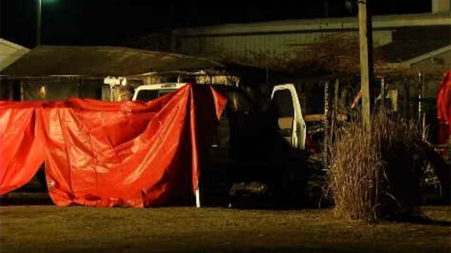 Crews in Montville are investigating after a shed fire on Tuesday afternoon left one man dead. (WFSB)