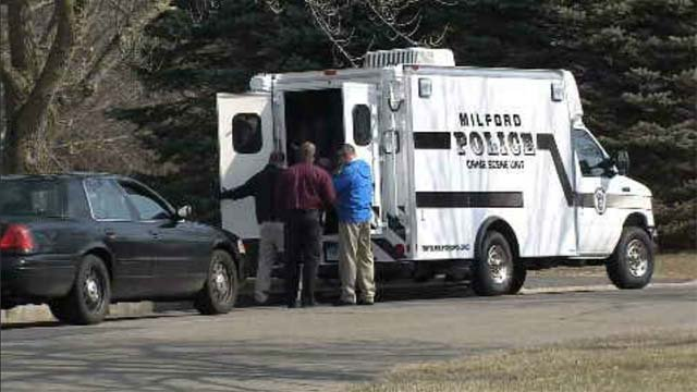Police located a stolen vehicle after a series of break-ins in Milford this week. (WFSB file)