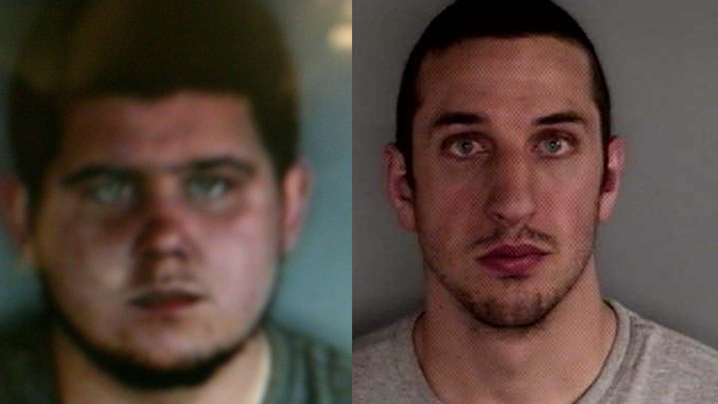 David Korot and Vincenzo Marino. (State police photo)