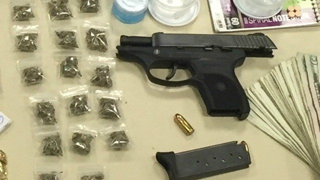 Illegal guns and drugs seized in Hartford