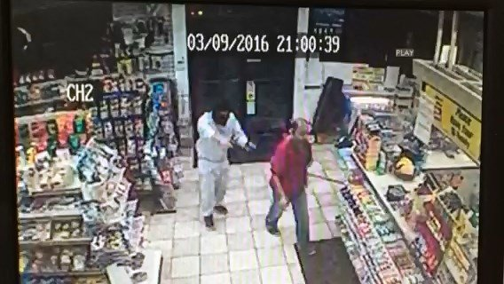 North Haven gas station ribbed at gunpoint.