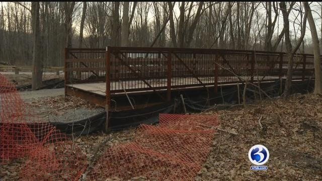 Police patrols are expected to be increased in Cheshire along the Rails to Trails. (WFSB)