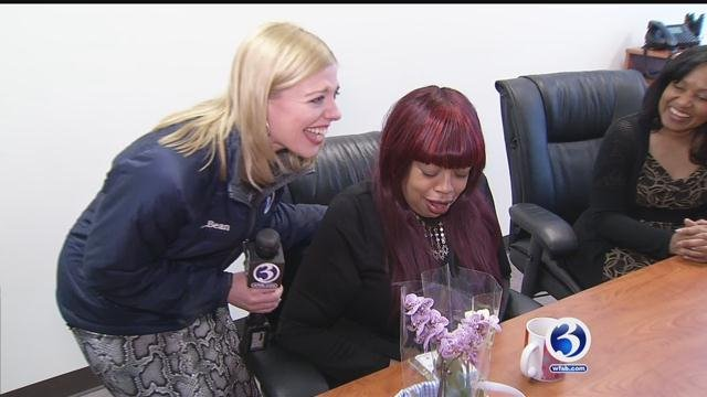 This week, the Channel 3 Liberty Bank SurPRIZE Squad surprised a woman who continues to give back to others despite her own personal hardships. (WFSB)