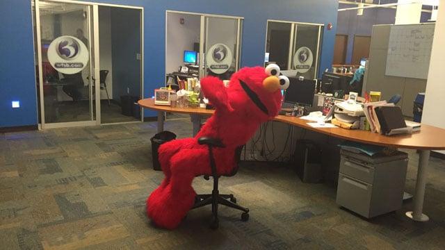 Elmo tells Eyewitness News how to get to Sesame Street Live - WFSB 3