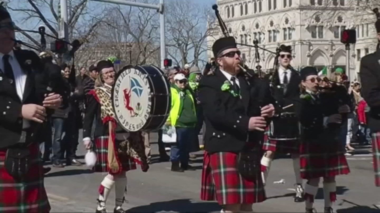 Hartford's St. Patrick's Day Parade. (WFSB file photo)