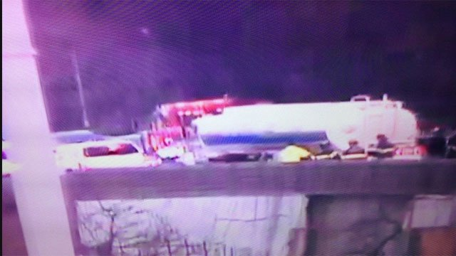 DEEP crews called to crash on I-91 in New Haven. (CT DOT)