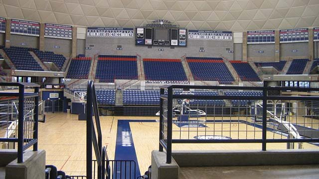 Gampel Pavilion on the University of Connecticut's Storrs campus. (Wikicommons photo)