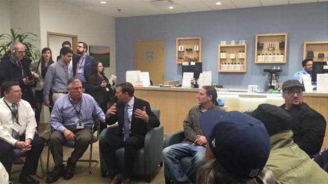 Sen Murphy meets with medical marijuana patients -