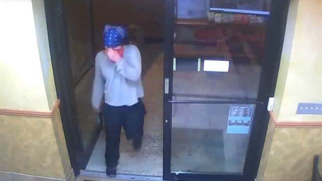 The suspect entered the Subway on Boston Post Road and employees opened the register and the suspect took cash. (Orange Police)