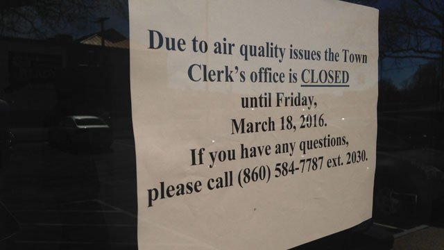 Bristol Clerk S Office Closed Due To Air Quality Concern
