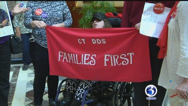 Those impacted by the cuts at the Department of Developmental Services wanted their voices to be heard on Wednesday.