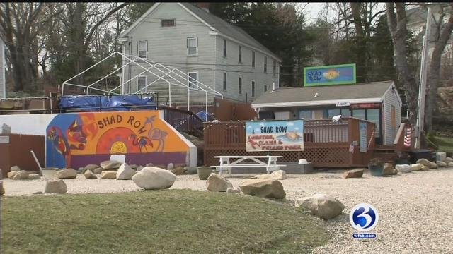 Shad Row wants to expand, however one neighbor has objected to the possible expansion. (WFSB)