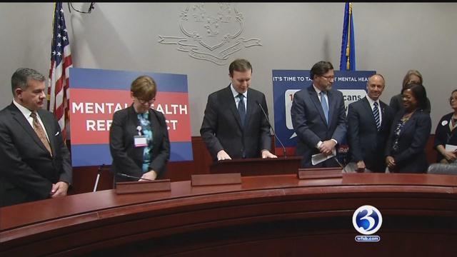 Lawmakers pass national mental health reform bill (WFSB)