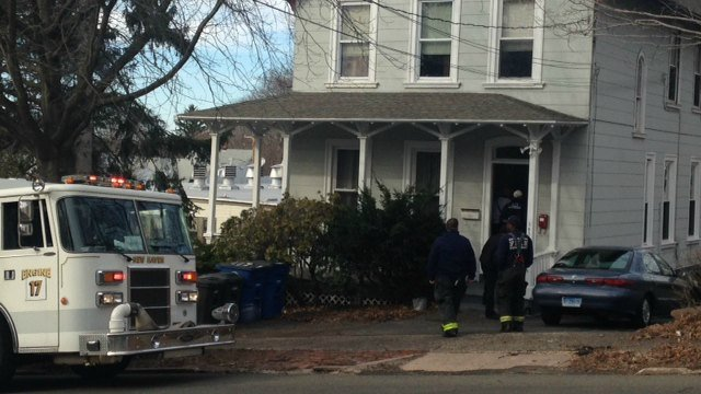 A child was removed from a heating duct in a New Haven home on Saturday. (WFSB)