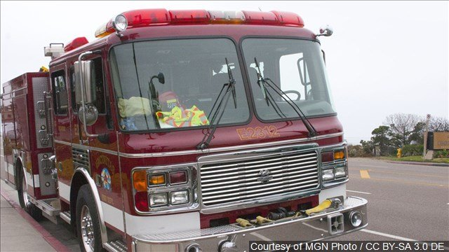 Crews respond to a house fire in Milford