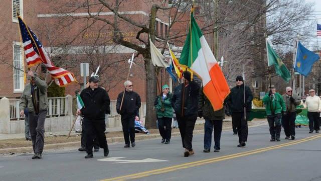 The 2014 St. Patrick's Day Parade in Danbury. (Greater Danbury Irish Cultural Center photo)