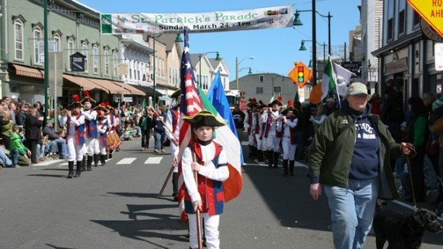 Mystic's Irish Parade will march on despite expected snow.  (Mystic Irish Parade Foundation)