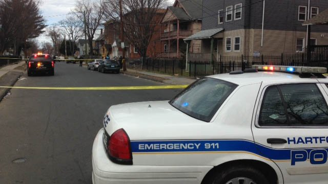 Hartford police investigate weekend's second shooting on Martin Street (WFSB)
