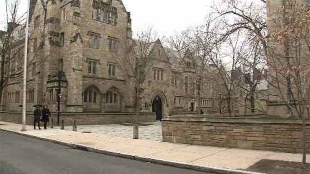 Yale University (WFSB file photo)