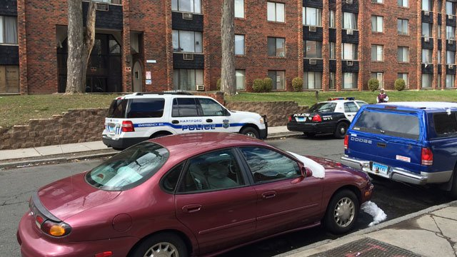 Police said a baby was burned at an apartment on Gillette Street in Hartford on Monday. (WFSB)