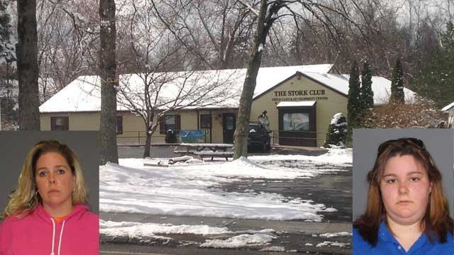 Glastonbury daycare facility director, worker arrested after allegations of abuse (Glastonbury Police/WFSB)