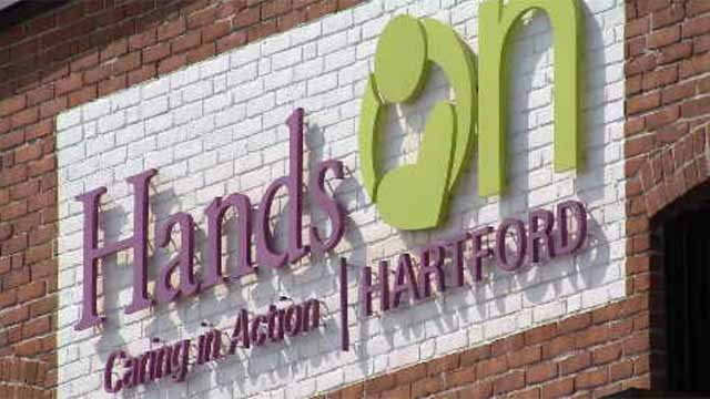 Hands on Hartford Center for Community was founded in 1969 under another name, but the agency has continued to help the less fortunate in various locations. (WFSB)