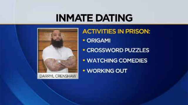 The website can be described at best as a pen pal website, but at worst, as a place for convicts to find dates, and Crenshaw has a profile. (WFSB/Meet-An-Inmate.com)
