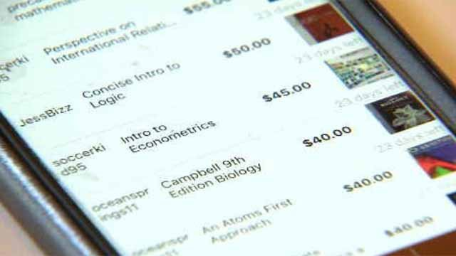 Trinity student creates app for buying, selling textbooks (WFSB)