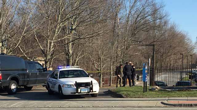 East Hampton police investigate package brought to police department (WFSB)