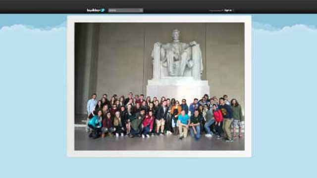 High school seniors from Coginchaug High School in Durham are currently on a trip to Washington D.C. (Twitter)