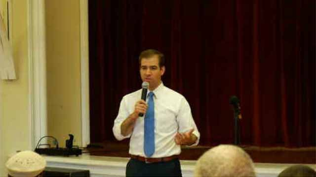 During a town hall meeting on Tuesday evening, Hartford Mayor Luke Bronin delivered the message that cuts are imminent. (WFSB)