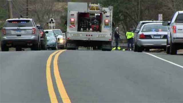Emergency crews were called to a report of a pedestrian being struck near a fire house in Somers. (WFSB)