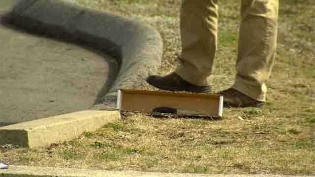 A knife was reportedly used during the fight that broke out at the high school. (WFSB)