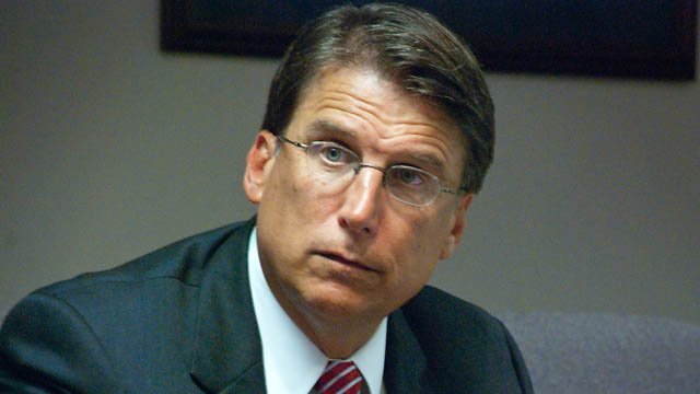 Gov. Pat McCrory. (Wikicommons photo)