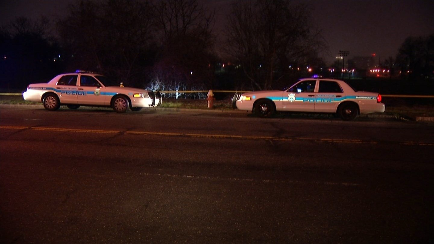 A second person was killed in an unrelated crash on Wawarme Avenue in Hartford. (WFSB photo)