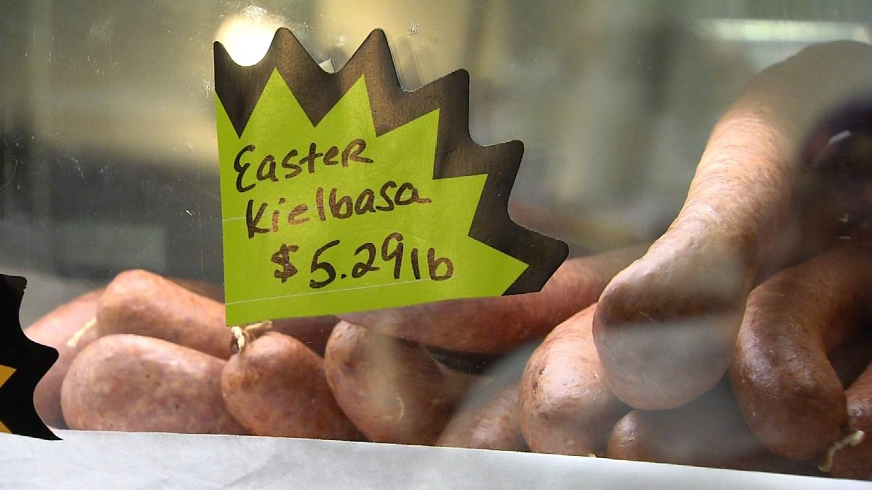 Martin Rosol's Meats' kielbasa. (WFSB photo)