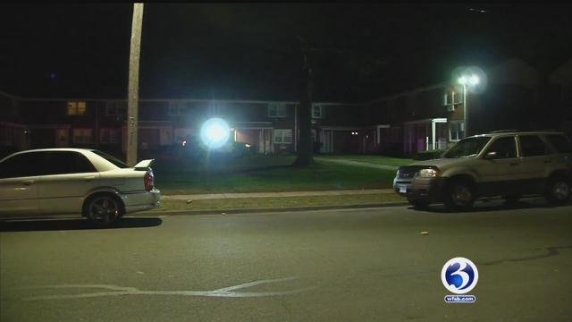 One man is dead after a shooting in the area of Smith Drive and Whiting Road. (WFSB)