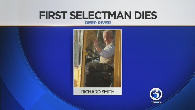 Deep River First Selectman Richard Smith passed away. (Deep River photo)