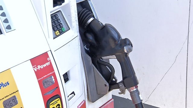 A new study by AAA shows Connecticut as the 10th most expensive state to purchase gas. (WFSB file)
