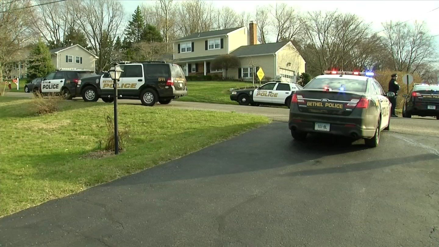 Three people were shot in Bethel on Friday. (WFSB photo)
