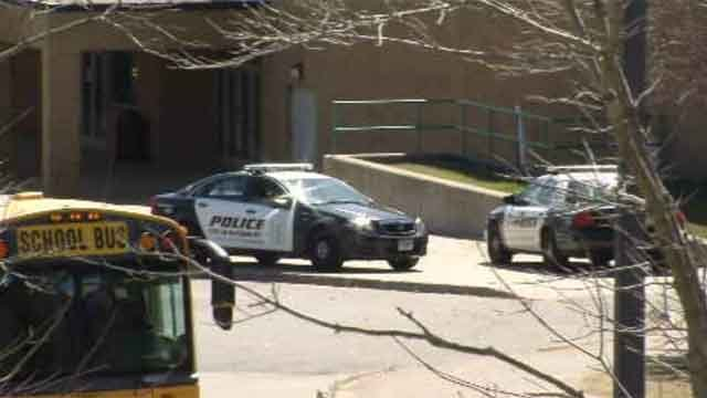 Extra police at Wilby High School in Waterbury after threat (WFSB)