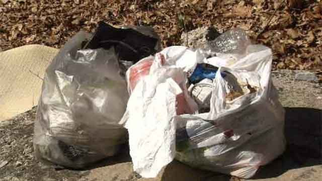 Illegal dumping is an ongoing problem in New Haven and a drain on public works crews, but the trash keeps piling up. (WFSB)