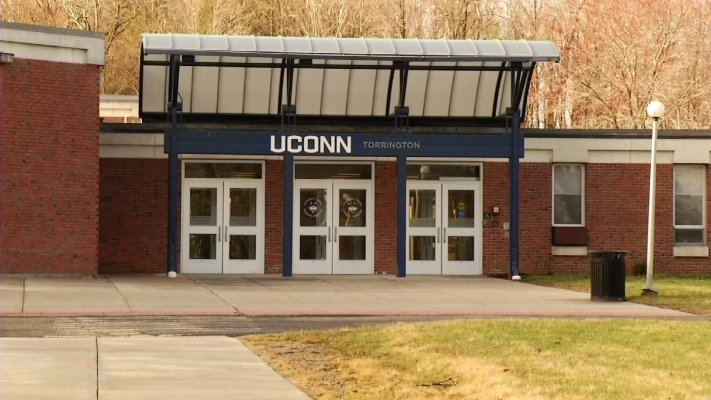 The University of Connecticut's Torrington campus could close to cover a budget gap. (WFSB photo)
