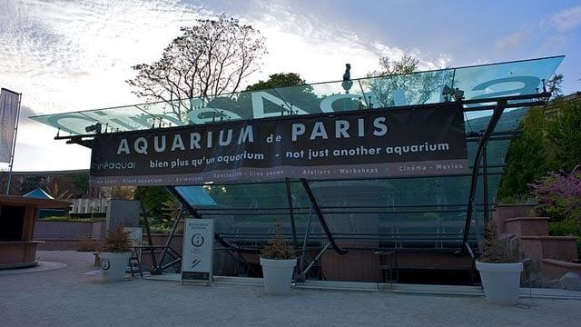 The Paris Aquarium. (Wikicommons photo)