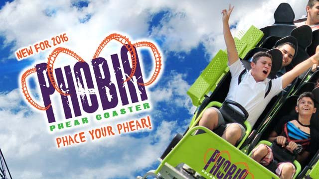 Lake Compounce said its 'Phobia Phear Coaster' will launch on May 7. (lakecompounce.com photo)